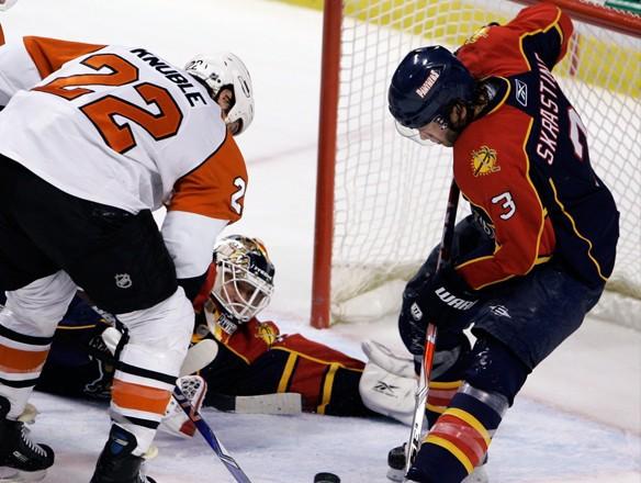 """Skrastiņa """"Panthers"""" pārspēj """"Flyers"""""""
