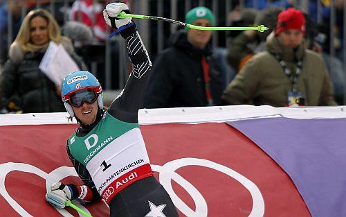 Milzu slalomā uzvar Ligetijs, Zvejnieks 54. vietā
