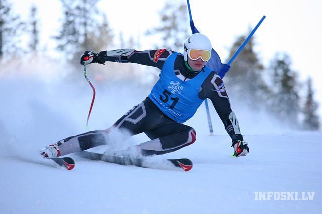 Rode labākais no latviešiem Norvēģijas čempionātā nobraucienā