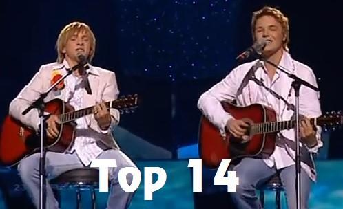 TOP 14. Visu laiku labākie Latvijas dalībnieki Eirovīzijas konkursos