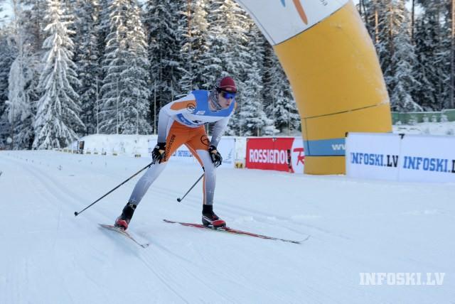 Latvijas čempionātā distanču slēpošanā Priekuļos kanādieši, igauņi un brazīlis