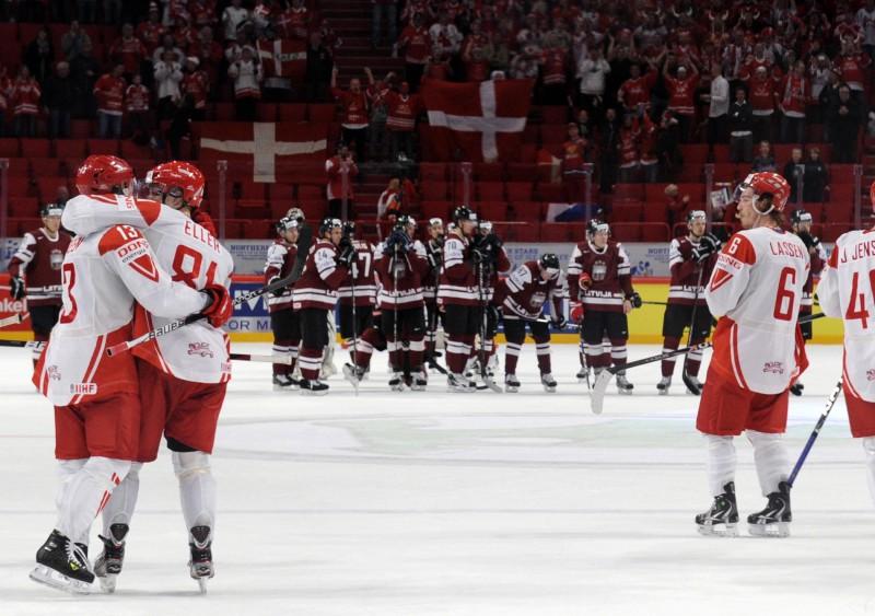 IIHF 2018. gada čempionāta rīkošanu uztic Dānijai, nevis Latvijai