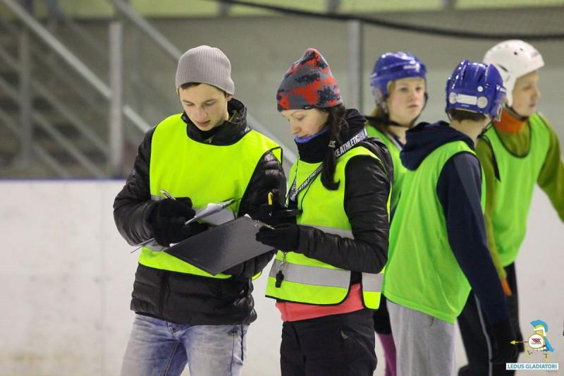 """Ledus gladiatori 2014/15"" treniņu laiki"