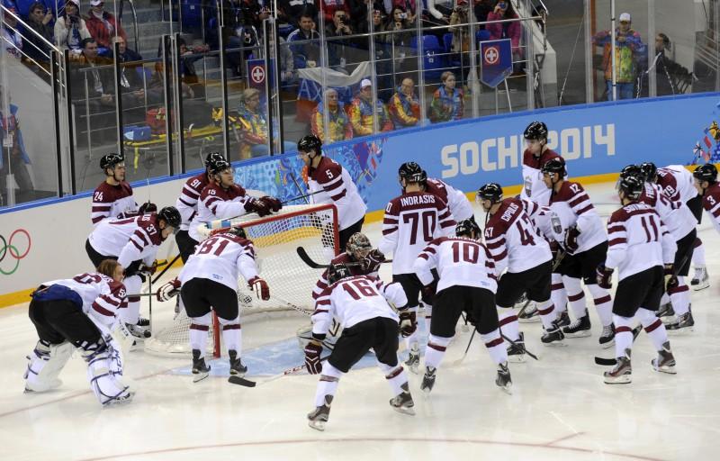 Latvijas hokeja izlases spēles olimpiādē - gada skatītākās TV pārraides