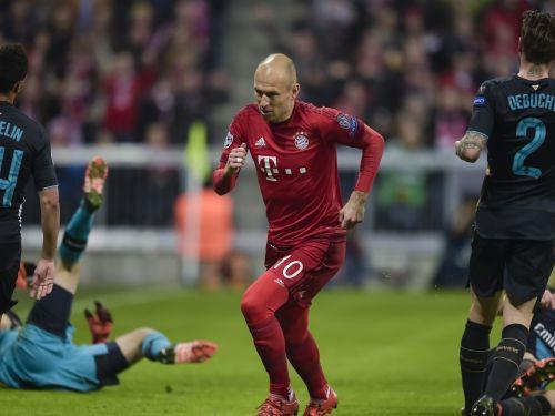 "F grupa: ""Bayern"" saplosa ""Arsenal"", ""Olympiakos"" gūst trešo uzvaru"