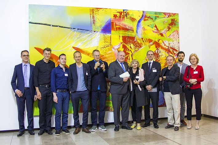 """Vācijas laikmetīgās mākslas izstādi """"Gara radinieki"""" apmeklējuši vairāk nekā 6 000 cilvēku"""