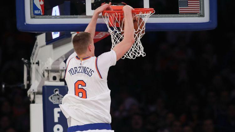 Porziņģis pirmoreiz nominēts NBA mēneša labākā spēlētāja titulam