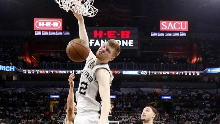 """Bertānam un """"Spurs"""" pirmā pārbaudes spēle 3. oktobra naktī"""