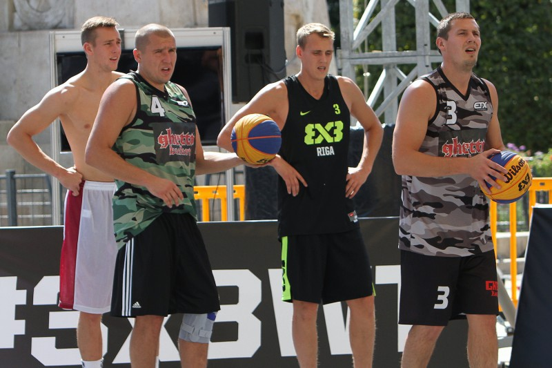 """""""Rīga Ghetto Basket"""" 3x3 basketbolisti klasiskajā sastāvā startēs Ungārijā"""