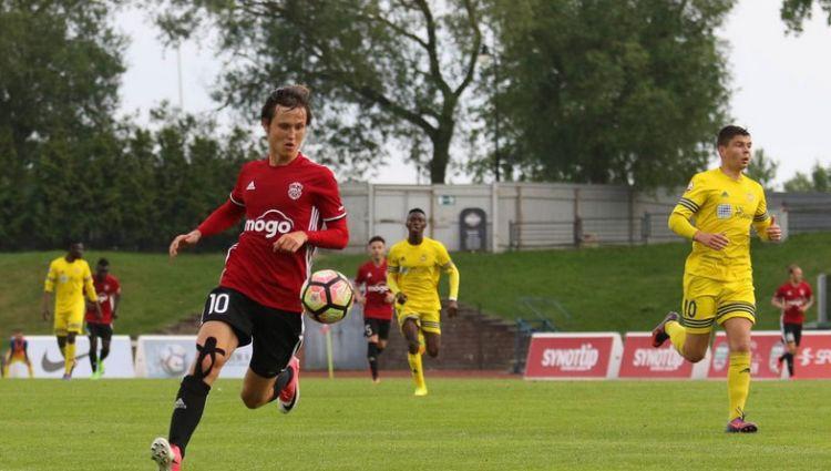 """Jānis Ikaunieks atrādīsies """"Jelgavu"""" uzvarējušajam ungāru klubam """"Ferencvaros"""""""