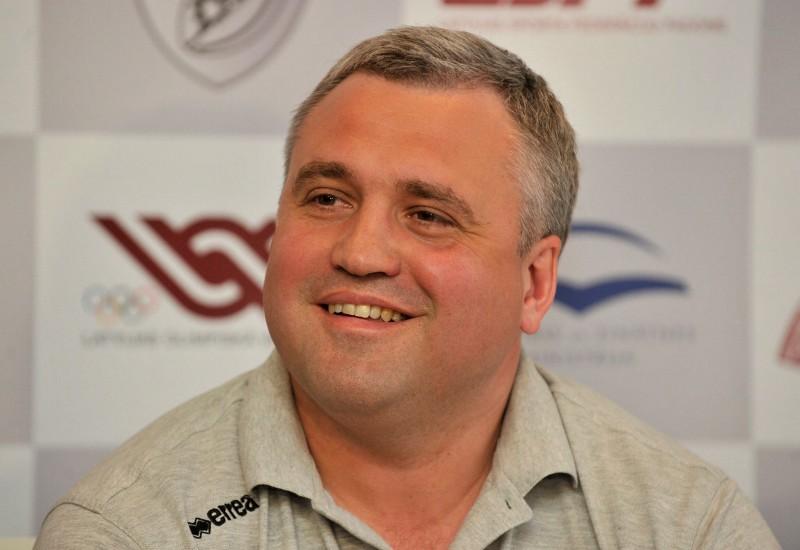 Latvijas regbija izlases treneris Lisko ar optimismu raugās uz gaidāmajām spēlēm ar Ukrainu un Zviedriju
