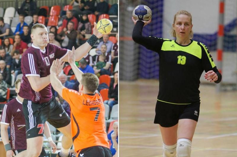 2017. gada Latvijas labākie handbolisti - Krištopāns un Asare