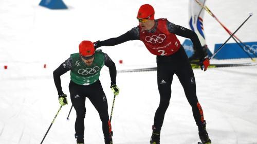 Trīs no trim: Vācija savāc visus zeltus ziemeļu divcīņā