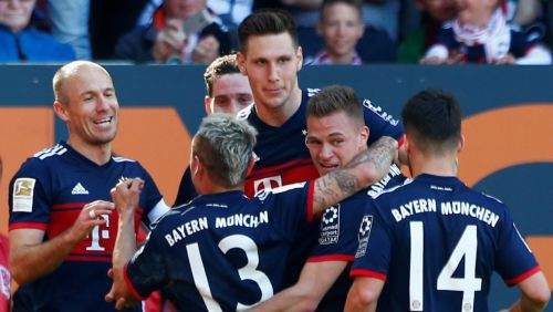 """""""Bayern"""" atkal ieiet Vācijas vēsturē - sestais bundeslīgas tituls pēc kārtas"""