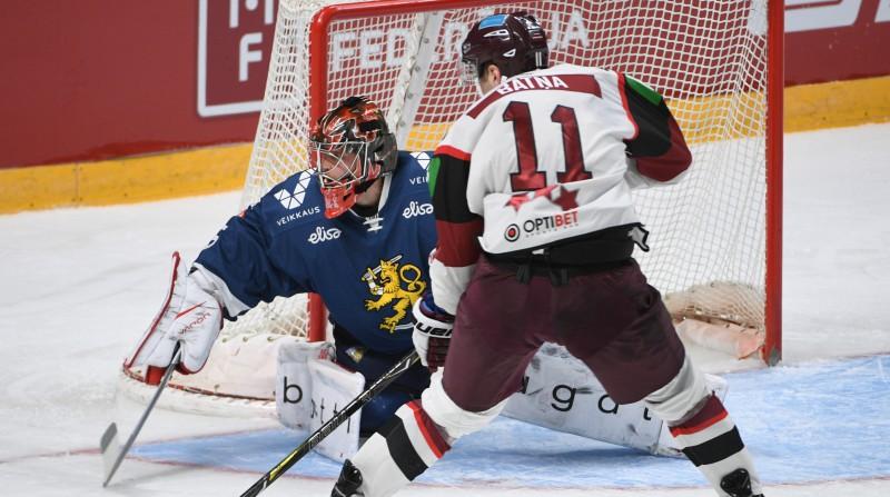 Nedebitējis pasaules čempionātā, Latvijas izlases uzbrucējs Batņa atgriežas Rīgā