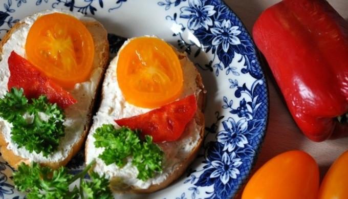 Garneļu un svaigā siera pastēte