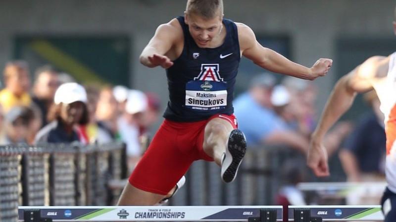Barjerskrējējam Sinčukovam septītā vieta NCAA finālsacensību 400 metru distancē