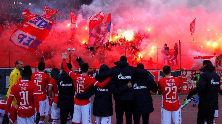 """""""Spartaks"""" Čempionu līgā pret Serbijas čempioni un tās faniem"""