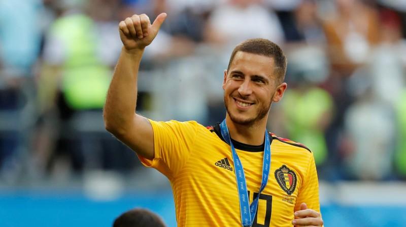 """Edens Azārs pēc Beļģijas uzvaras izdara mājienu par pāreju uz Madrides """"Real"""""""