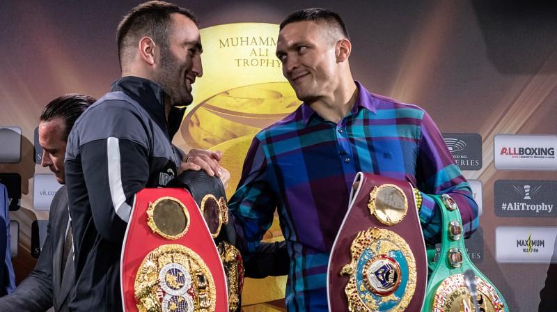 Usiks politisku iemeslu dēļ nevēlas cīnīties pret Krievijas bokseri