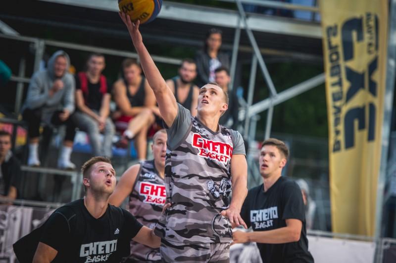 """21. augusta """"Ghetto Basket"""" tiks izspēlēta ceļazīme uz 3x3 basketbola Pasaules tūri"""
