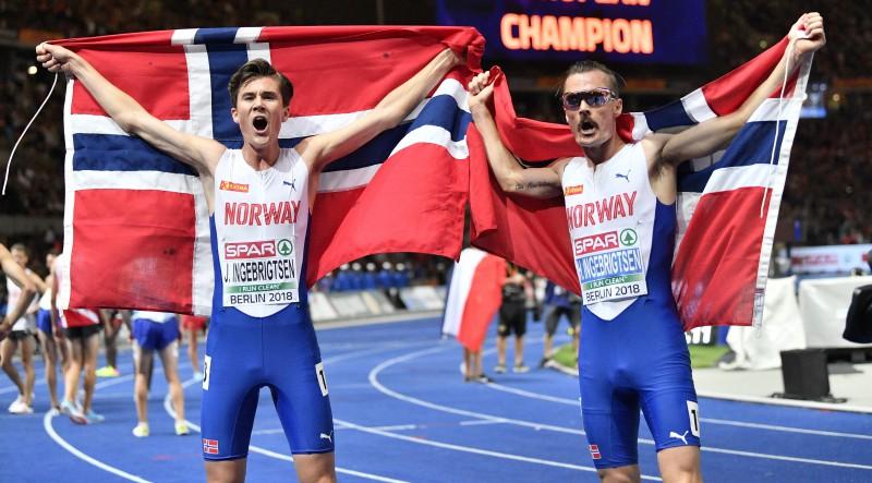 Norvēģu un beļģu brāļu vakars Berlīnē, horvātu diska metējai piektais tituls pēc kārtas