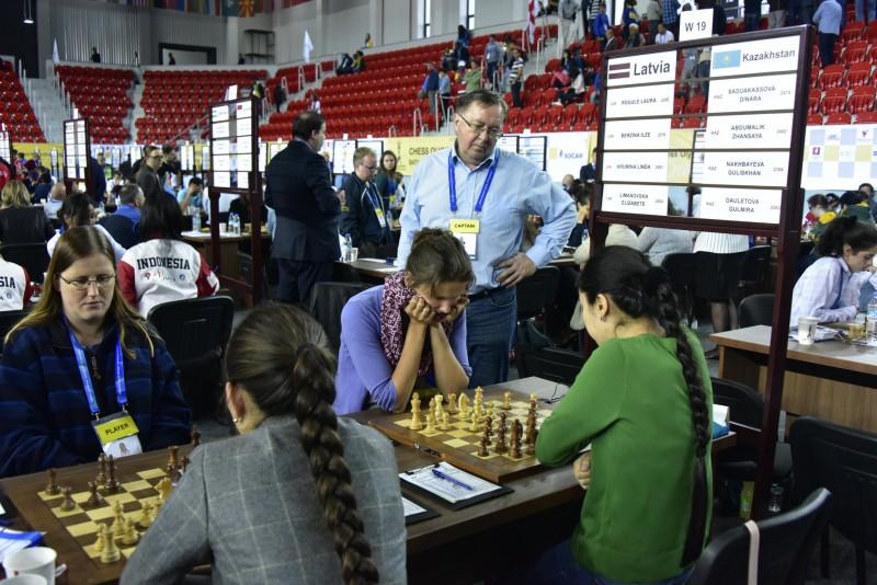 Latvijas dāmas iekļūst pasaules šaha Olimpiādes divdesmitniekā