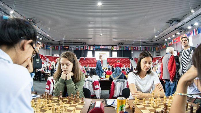 Abas Latvijas šaha izlases zaudē Olimpiādes devītajā kārtā