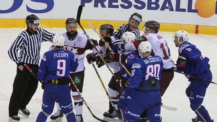 Latvijai izbraukumā pret Baltkrieviju cīņa par pirmo vietu turnīrā