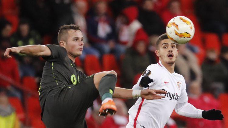 """Ikaunieka klubam pēdējā vieta grupā, """"Sevilla"""" negaidīts un svarīgs zaudējums Beļģijā"""