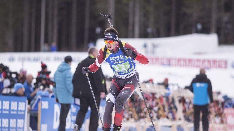 Latvijas komanda stafetē ar Rastorgujevu pēdējā posmā