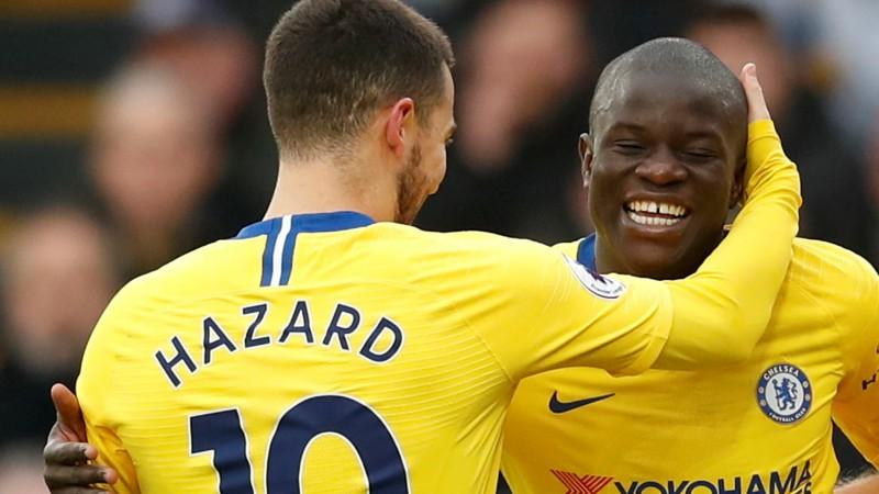 """Kantē gūst uzvaras vārtus grūtā """"Chelsea"""" uzvarā pār """"Crystal Palace"""""""