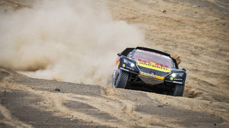 Lēbs dominē Dakaras rallija garākajā posmā