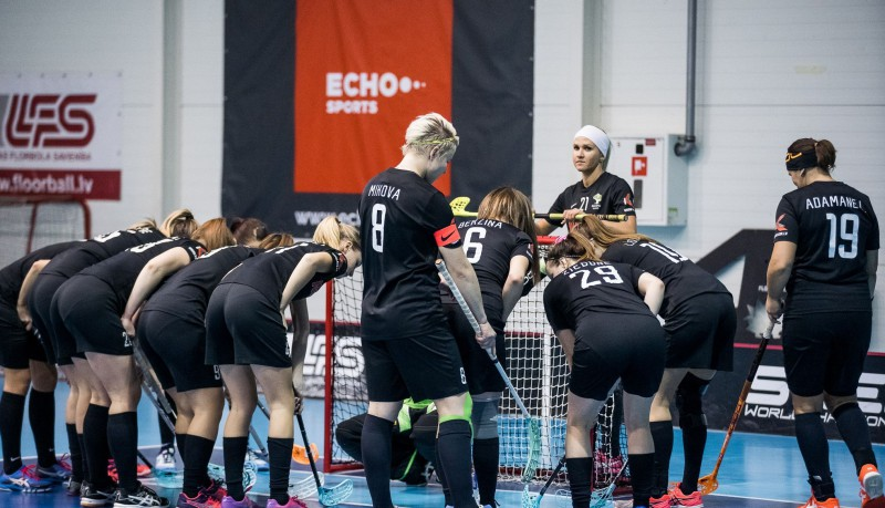 Igaunietes sezonai punktu liek ar spēli pret Latvijas čempionvienību