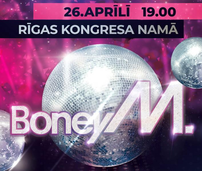Sākas biļešu tirdzniecība uz BONEY M koncertu Rīgā