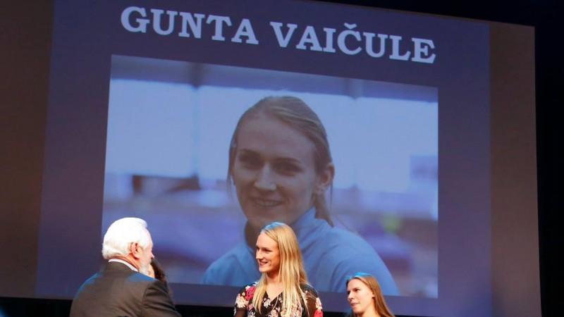 Gunta Vaičule - seškārtējā Rēzeknes gada sportiste