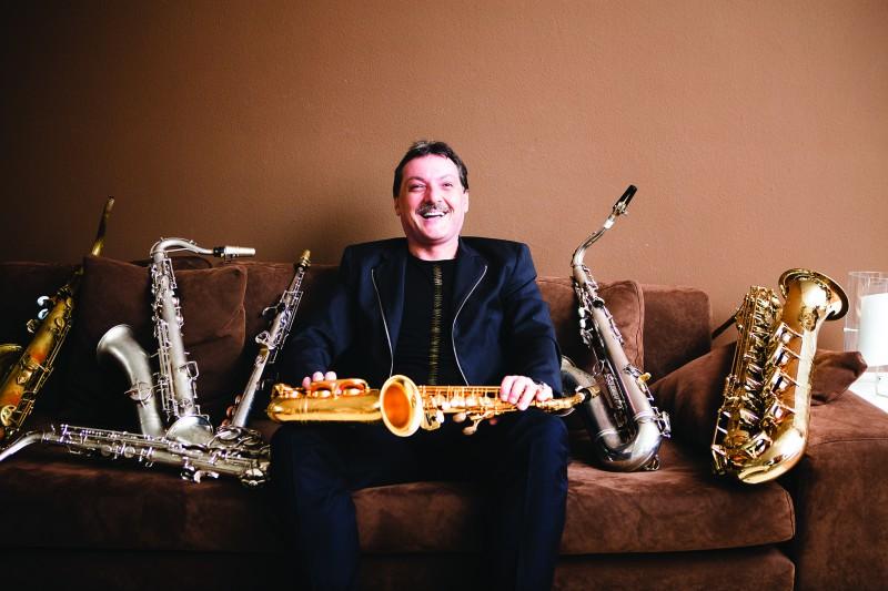 """Austriešu saksofonists Kristians Maurers satiekas ar Sinfonietta Rīga festivālā """"Saxophonia"""""""