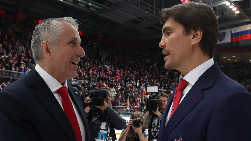 Hārtlijs nominēts KHL sezonas labākā trenera balvai, ko pasniegs šovakar