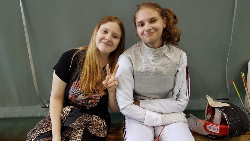 Maslobojeva Rīgā uzvar Ziemeļvalstu čempionātā paukošanā