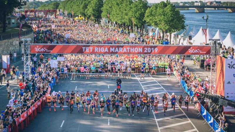 Rīgas maratonā pārspēj rekordu, pusmaratonā uzvar Višķers, Prokopčuka izstājas