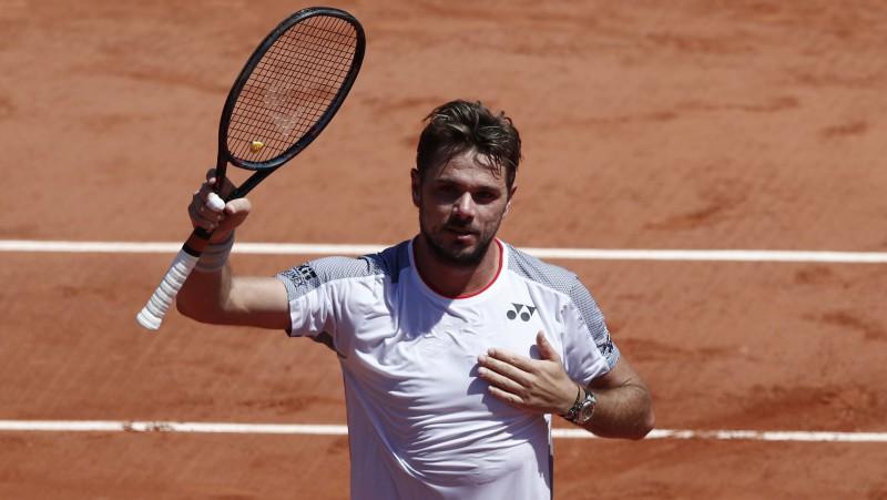 """Vavrinkam 4-0 pret Dimitrovu """"Grand Slam"""" turnīros un karjeras 500. uzvara"""