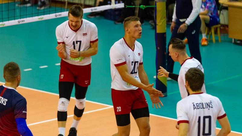 Otrā uzvara pār Beļģiju garantē Latvijai vietu Zelta līgā arī nākamsezon