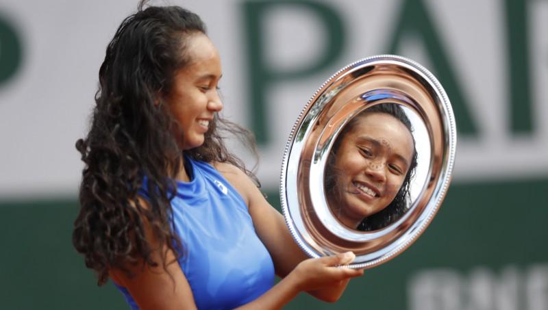 """""""French Open"""" junioru turnīros uzvar Kanādas un Dānijas spēlētāji"""