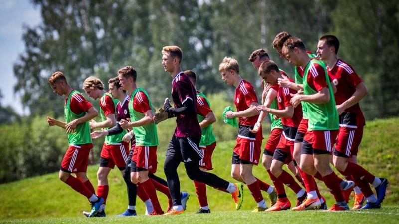 Jaunieši turpina priecēt: U21 izlase pārbaudes spēlē ar 2:0 pārspēj Lietuvu
