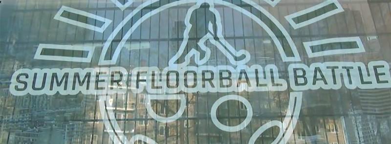 ''Summer floorball battle 2019'' atklāšanas mačā