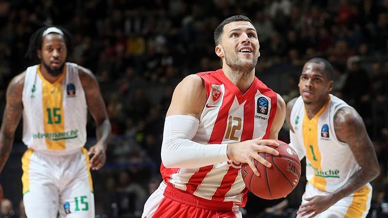 """Barona pēdējās sekundes metiens atnes """"Crvena zvezda"""" Serbijas čempionu titulu"""