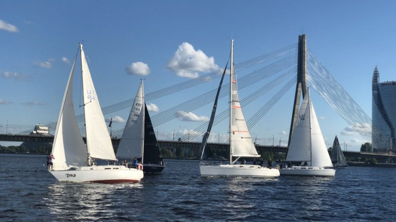 Vērienīgā Rīgas līča regatē aicinās iestāties par Baltijas jūras tīrību