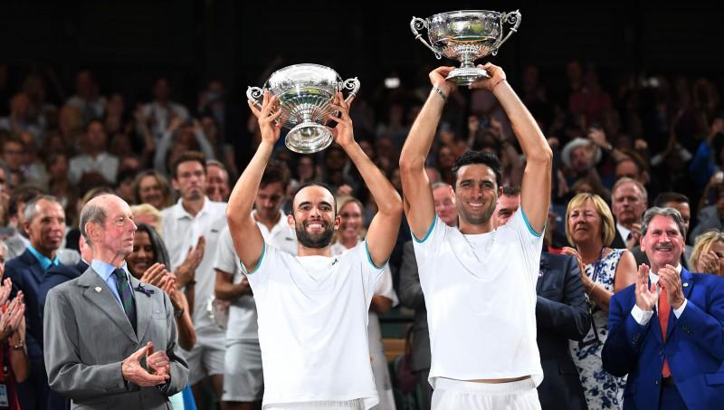 """Kabals un Farahs izcīna Kolumbijai pirmo """"Grand Slam"""" dubultspēļu titulu"""