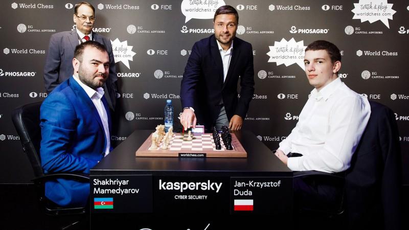 Verpakovskim pirmais gājiens, Mamedjarovs, Griščuks un So dodas tālāk