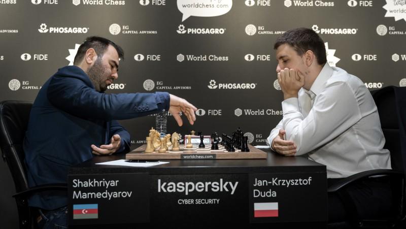 """Rīgas """"Grand Prix"""" finālā tiksies francūzis Vašjē-Lagravs un Mamedjarovs no Azerbaidžānas"""